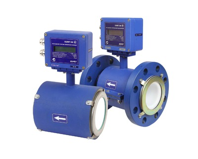 Измерение и учет расхода жидкостей (электромагнитный метод)